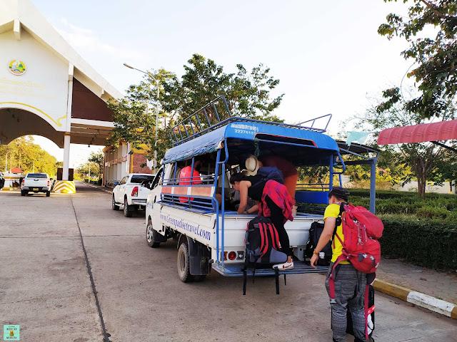 Camioneta hasta Ban Nakasang, Laos