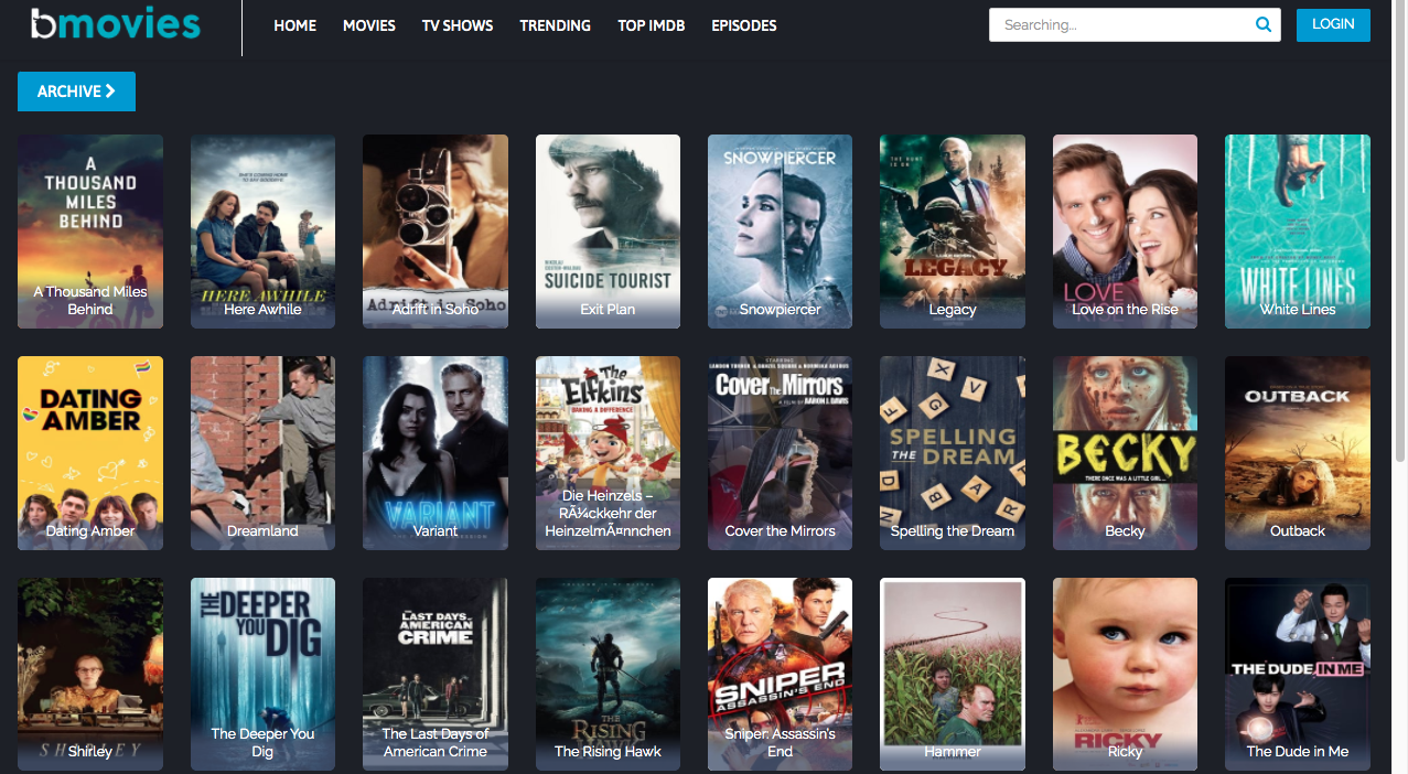 BMovies FMovies Alternatives
