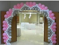 Balon gapura gate unik