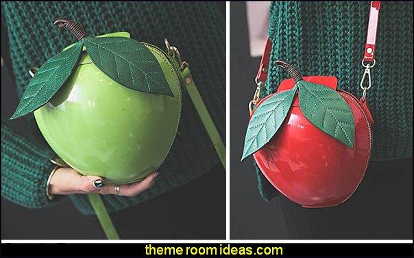 Fruit Shape  Handbag  Apple Shoulder Bag Strawberry Crossbody Bag Clutch Purse