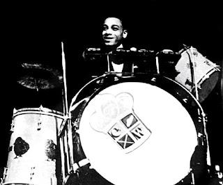 chick webb drum set