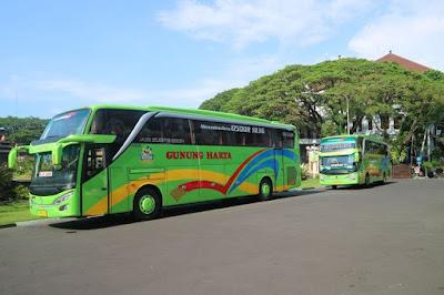 Harga tiket Bus PO Gunung Harta