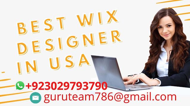 Best 5 Freelancer Wix website Designer in USA  Wix Designer Cost  Pro Wix designer near me