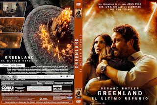 GREENLAND EL ULTIMO REFUGIO - GREENLAND 2020 [COVER - DVD]