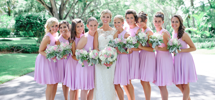 A Sunny and Sweet Naples Wedding