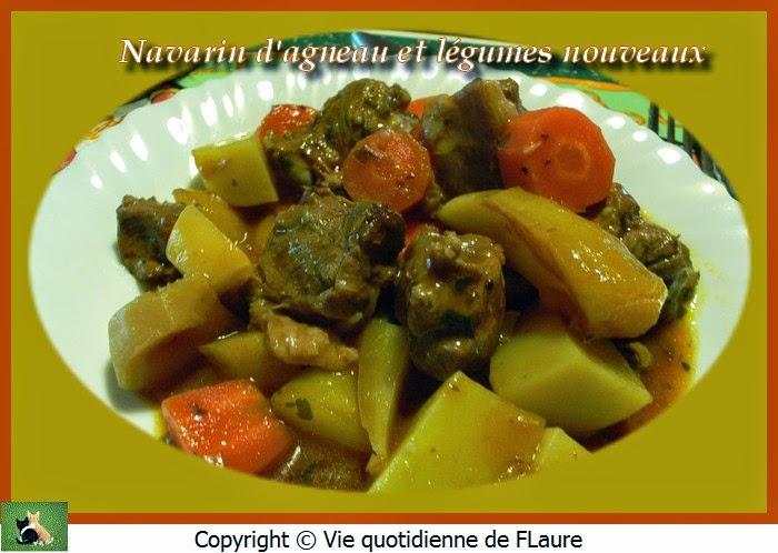 Vie quotidienne de FLaure: Navarin d'agneau et légumes nouveaux
