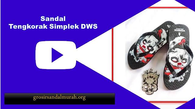 grosirsandalmurah.org - Sandal Pria - Sandal Tengkorak Simplek DWS