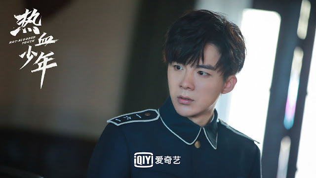 hot-blooded youth action cdrama liu yuning
