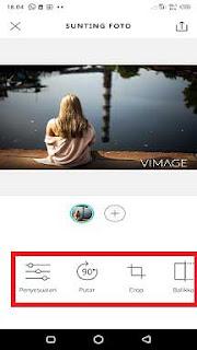 cara menambahkan animasi pada foto untuk status di whatsapp
