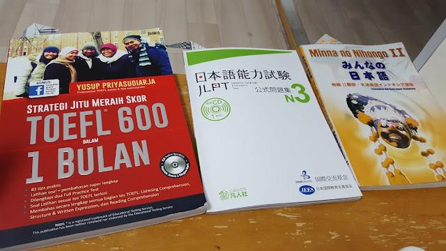 Target Lulus JLPT dan TOEFL