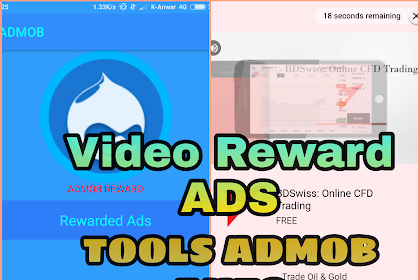 Admob Tools: Auto Impression Khusus Iklan Reward Ads  (Just To rewarded video ads)