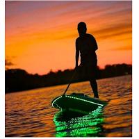 Un éclairage pour planche de surf : beau et pratique