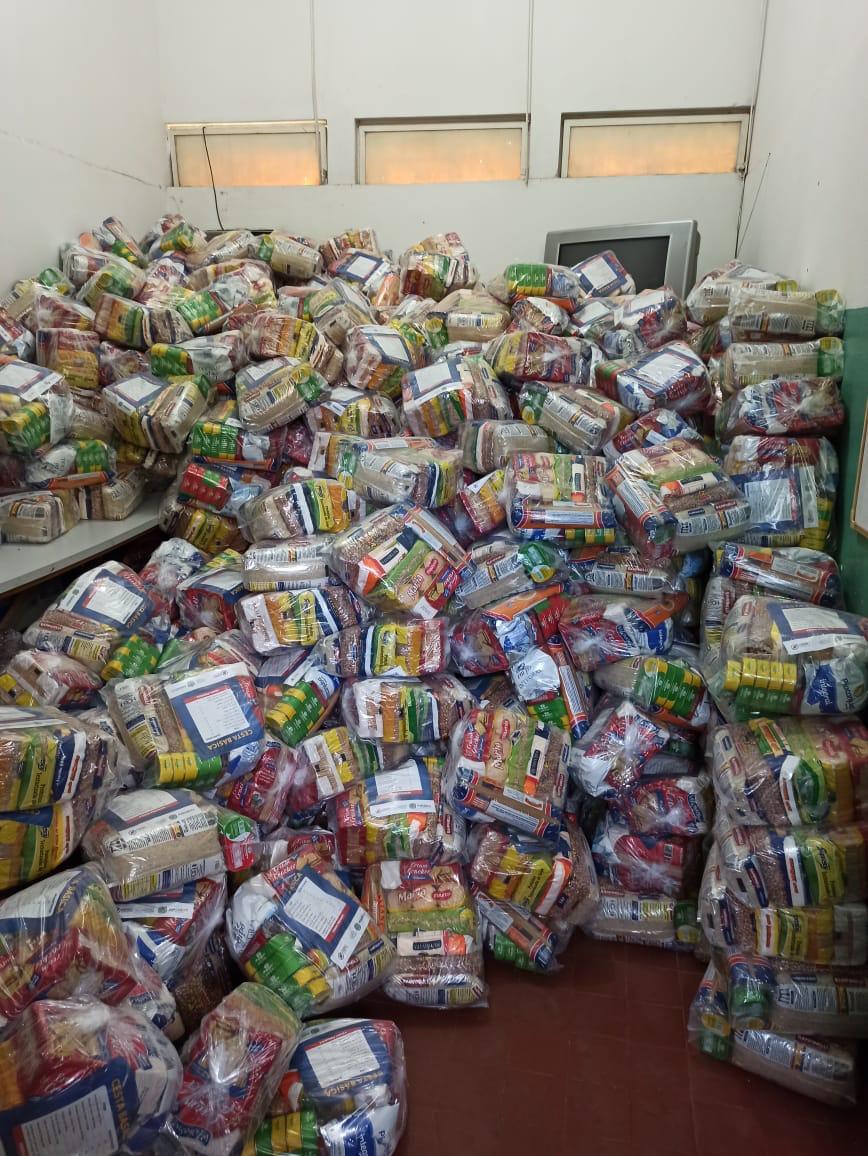 Prefeitura de Ribeirão cria Cartão Vale Alimentação Escolar, e distribui 1.600 cestas básicas para famílias carentes