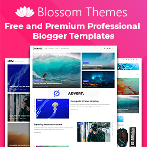 Blossom Themes : Free & Premium Professional Blogger Templates