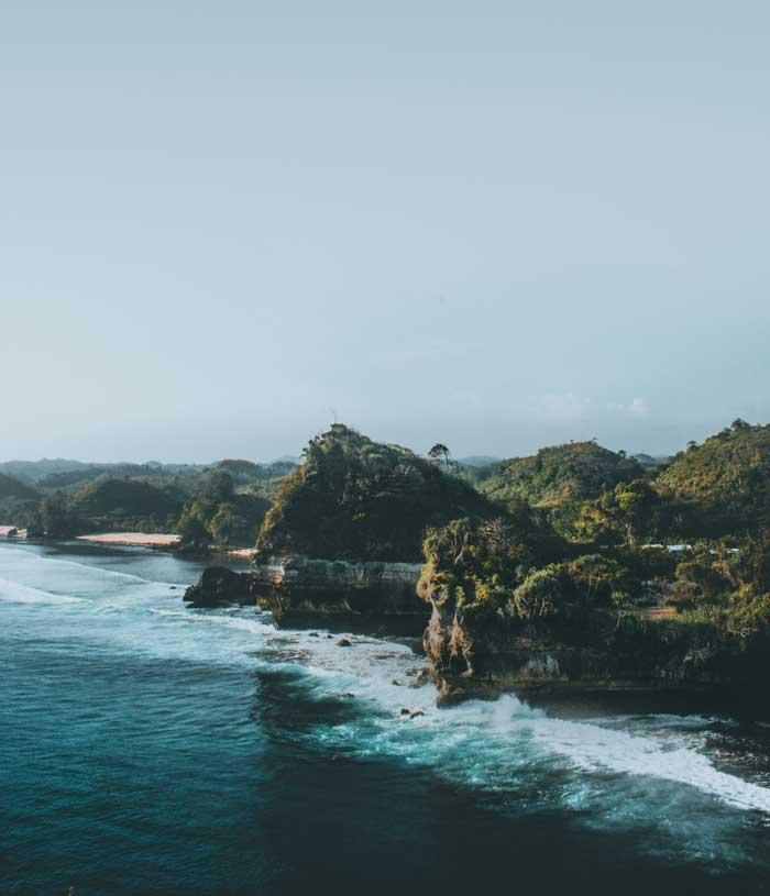 Rute Pantai Batu Bengkung