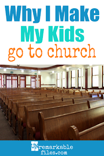 Now that my oldest child is a teenager, I can look back and definitely say I'm glad I required us all to attend church as a family when my kids were little. It would have been easier to stay home when we had colicky babies, crying toddlers, or restless kids, but they would have been missing out on cultivating a habit of faith that has made all the difference in their lives. #parenting #church #faith #kids #christian #lds