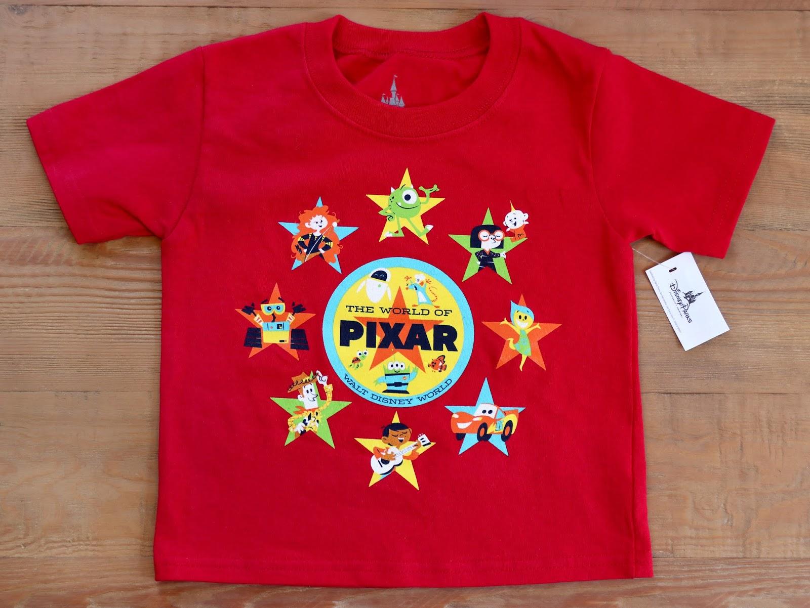 """World of Pixar"" Toddler T-shirt—Walt Disney World Version"