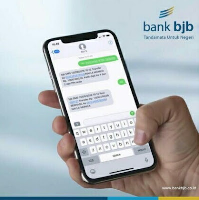 format sms banking bank bjb