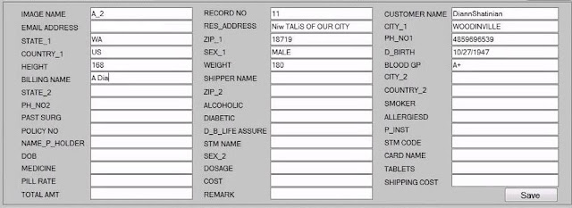 Form filling software