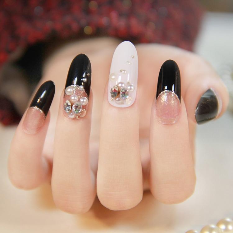Long Black Nails!