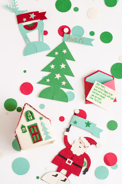Christmas Paper Crafts Using Cricut Explore Air 2
