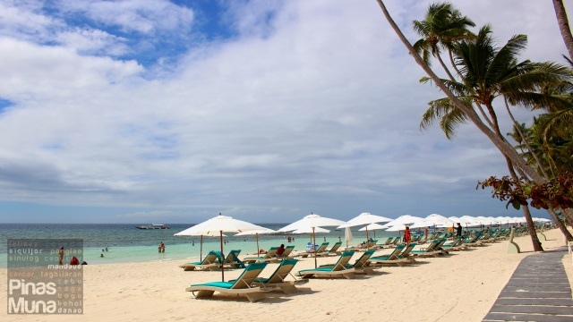 Beachfront of Henann Resort Alona Beach Bohol