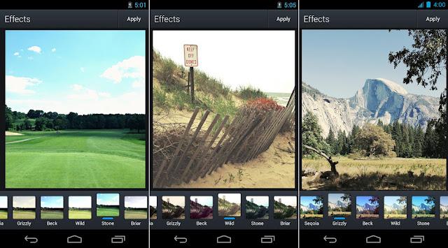 Télécharger la dernière version Aviary Photo Editeur Android la Meilleur Application retouche photos Android