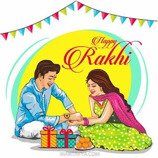 brother sister tie rakhi