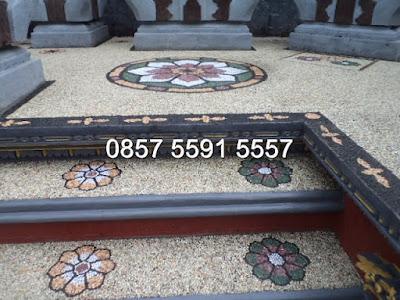 Tukang Amyangan Motif Batu Sikat Bali