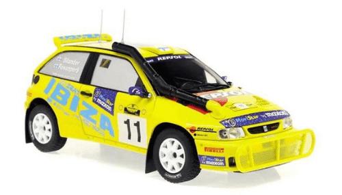 WRC collection 1:24 salvat españa, Seat Ibiza Kit Car 1:24