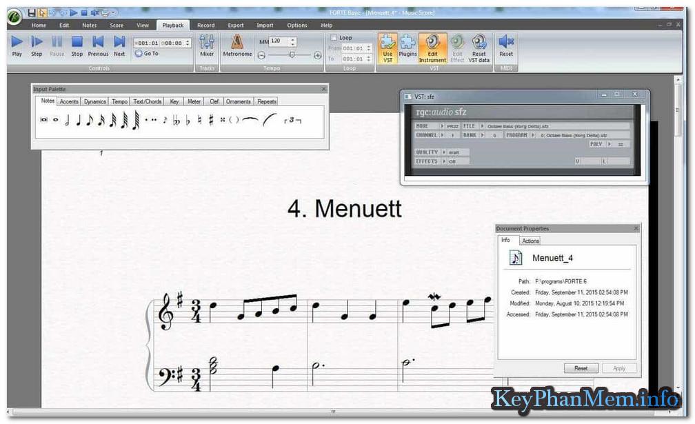 Forte Notation FORTE 9 Premium 9.1.1 Full Key, Siêu phần mềm soạn nhạc cho mọi đối tượng