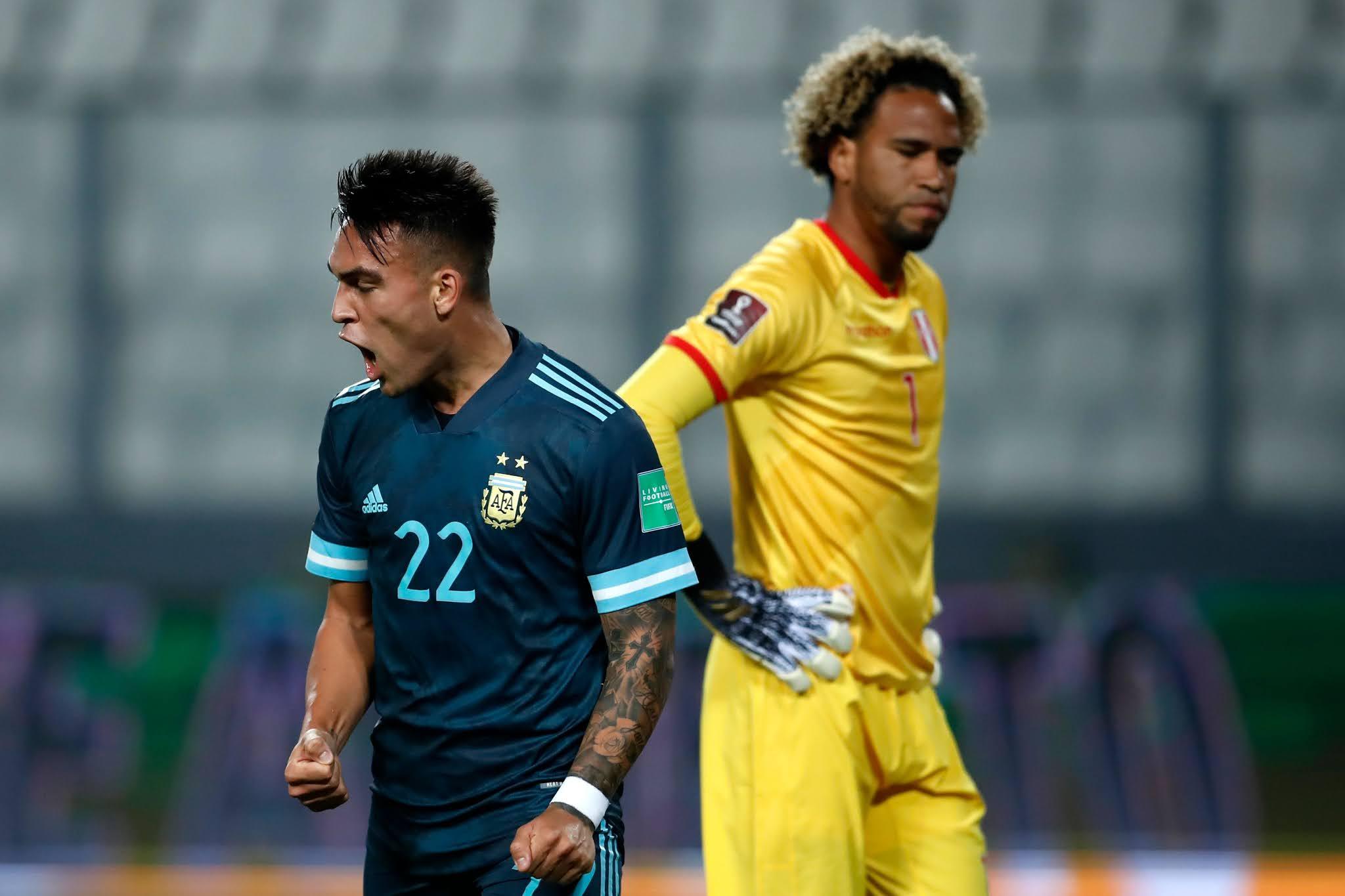 Perú 0-2 Argentina Eliminatorias Sudamericanas