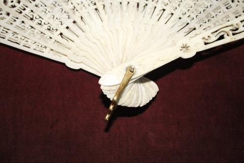 El armario de lady marlo abanico chino de plumas pintadas - Armarios antiguos baratos ...