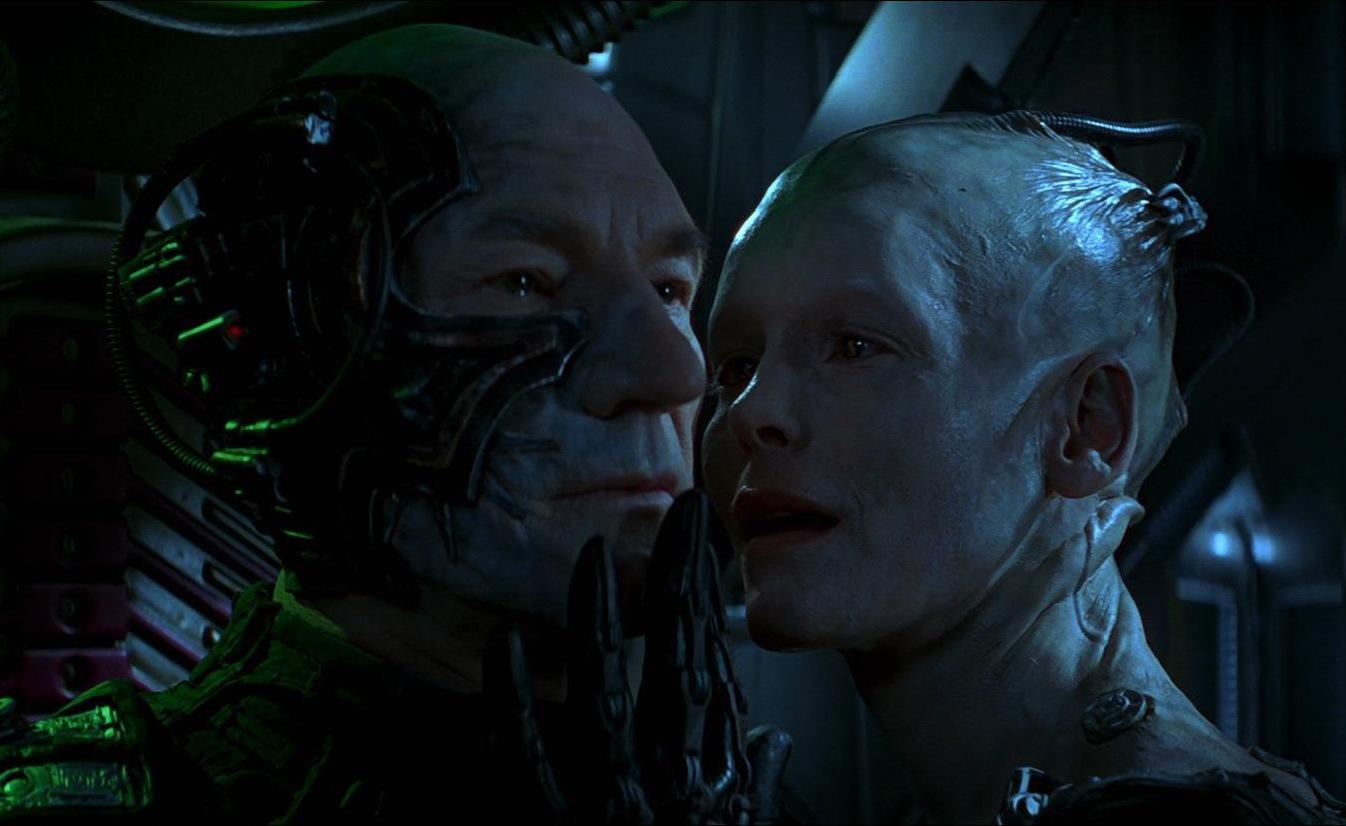 Locutus e a rainha Borg - Jornada nas Estrelas