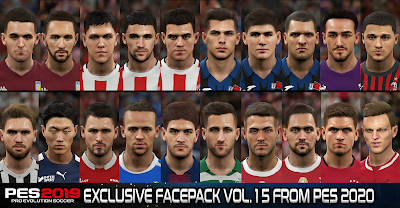 PES 2019 Exclusive Facepack Vol. 15 by Sofyan Andri
