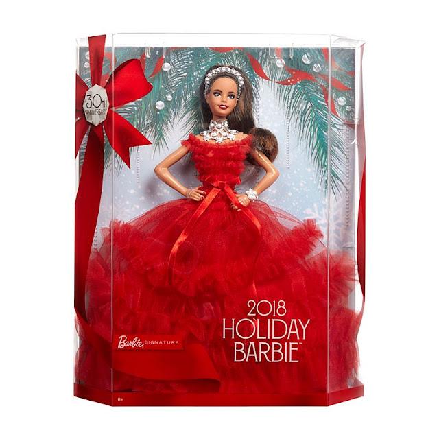 Satchel New Hispanic Barbie 2018 Holiday Doll