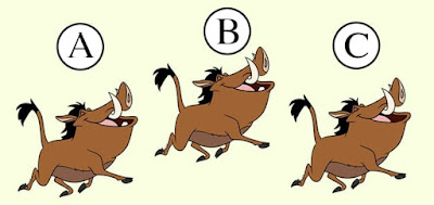 Figure: Which Pumbaa is different?