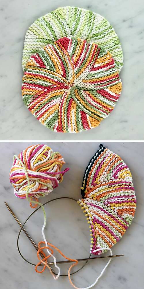 Easy as Pie Dishcloth - Free Pattern