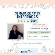 A escritora Rosa Morena participa da Semana de Artes Integradas SESC