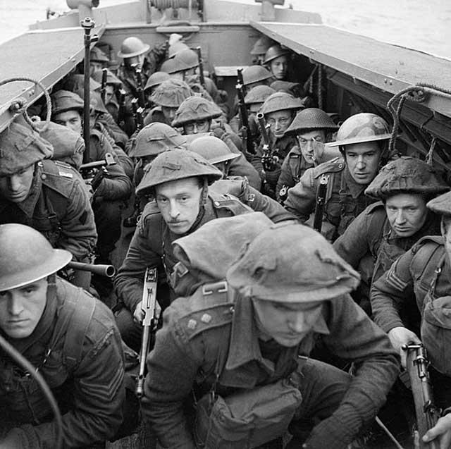 British commandos in training, 28 February 1942 worldwartwo.filminspector.com