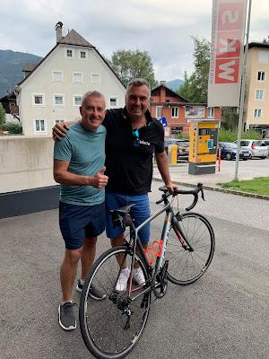 Carbon road bike rental Ironman Switzerland Thun
