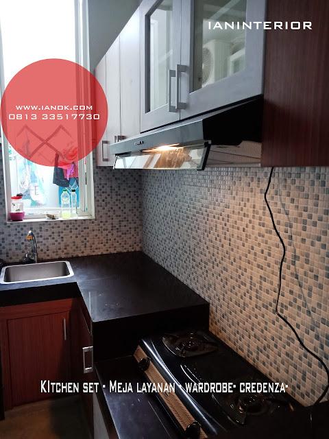 kitchen set dicitra graden sidoarjo