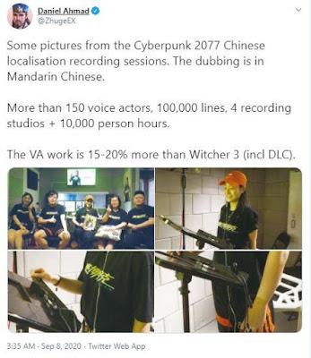Analisis video game Cyberpunk 2077