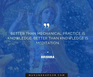 Bhagavad Gita quotes by Lord Krishna