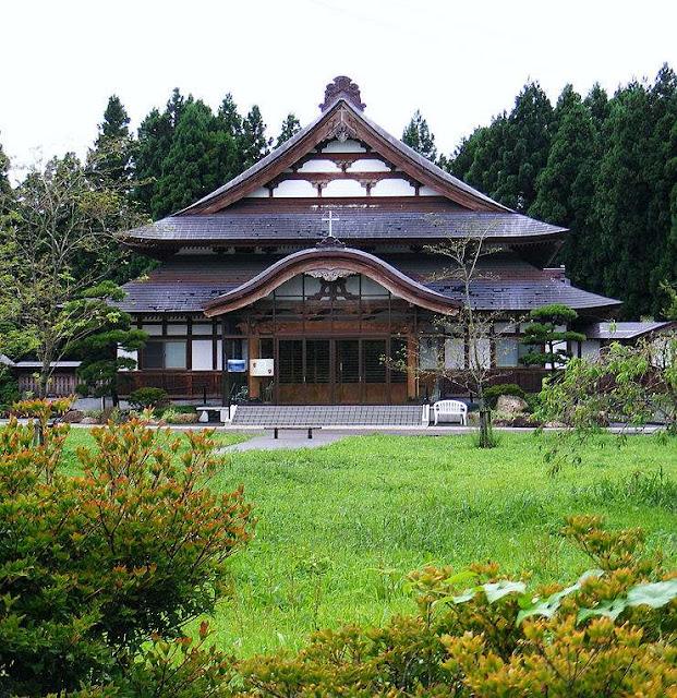 Convento onde aconteceram as aparições em Akita.