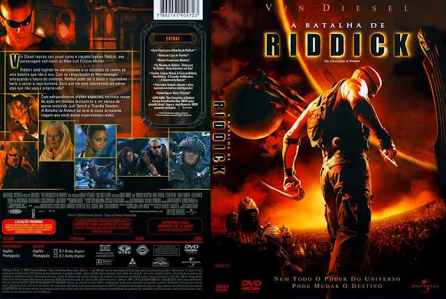 Capa DVD A Batalha de Riddick