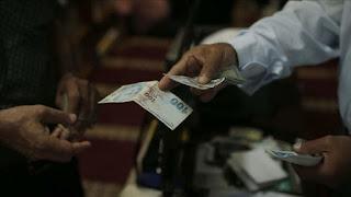 سعر صرف الليرة التركية مقابل العملات الرئيسية السبت 23/5/2020