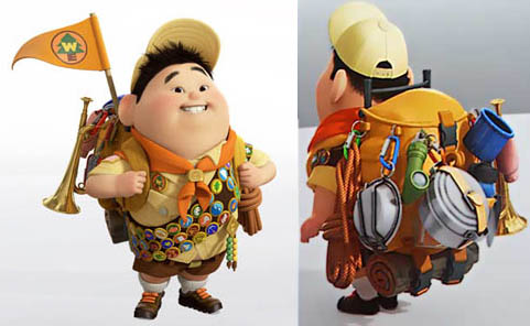 Up Character Russell