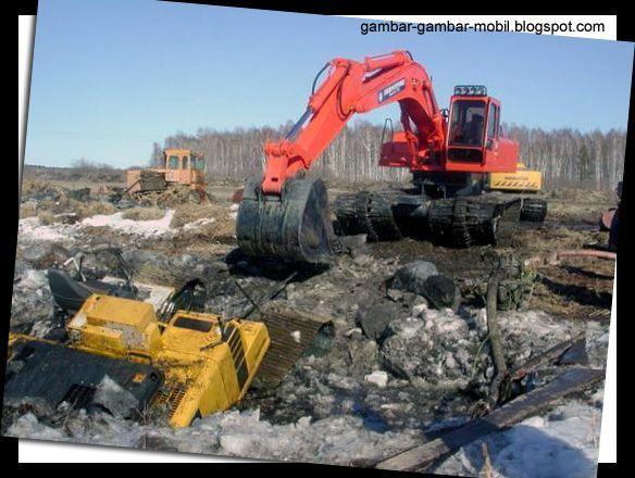 Foto Excavator Terbesar Di Dunia - Gambar Gambar Mobil
