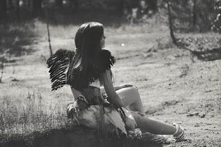 moça com asas - anjo